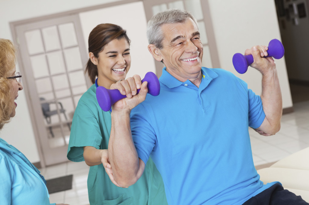 Rehabilitation & Therapy at Park Manor of Quail Valley nursing home in Missouri City, TX.